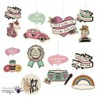 2 Pack Car Auto Hanging Fragrance Scented Novelty Freshener Office Funny Van