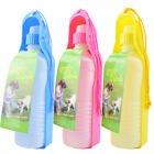 Portable Pets Dog Water Bottle Bowl Drink Dish for Cat Bird Travel Feeding Puppy