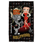 Betty Boop Film Star HOLLYWOOD NIGHTS Lightweight Beach Towel $19.76 USD on eBay