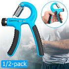 1/2-pack Metal Strength Exercise Gripper Hand Grippers Grip Forearm Wrist Grips image