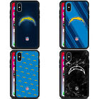 NFL 2017/18 LOS ANGELES CHARGERS BLACK ARMOUR LITE CASE FOR APPLE iPHONE PHONES
