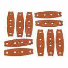 Anti-skid Leather Slingshot Pouches Light Hunting Part W Multi Holes 53mm Length