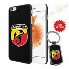 Fiat Abarth Phone Case Cover And Free Keyring for Apple iPhone Samsung Etc 0-41