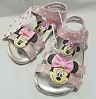 Внешний вид - NEW NWT Baby or Toddler Disney Minnie Mouse Sandals Size 6 7 9 or 10