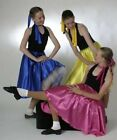 Dance-1950s-Rock and Roll JIVE SKIRT WITH ATTACHED PETTICOAT All Childs Sizes