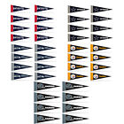 Football Pick Your Team Mini Pennant Banner Flags 4 x 9 Fan Cave Decor 8 Pk