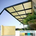 6' 8' FT Tall Sun Shade Sail Fabric Roll Outdoor Garden Yard Pergola Patio Cover