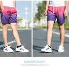 Summer Men Beach Shorts Quick Dry Swimwear Loose Swim Trunks Surf Sport Pants D