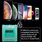 RSIM 14 V18 12+ R-SIM Nano Unlock Card for iPhone XS Max/XR/X/8/7/6 iOS 12.4 Lot <br/> For iOS12.4+✅ US Same Day Dispatch✅All iPhone Series