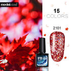 Modelones 10ML Lucky Hybird Nail Gel Polish Glitter Star Moo