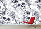 3D Floral Skull Fashion 45 Wall Paper Wall Print Decal Wall Deco Indoor Mural