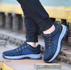 Men's Safety Shoes Steel Toe Trainers Cap Work Boots Hiking Shoes Breathable UK