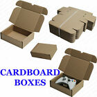 SHIPPING STORAGE BOXES POSTAL MAILING GIFT PACKET SMALL PARCEL NATURAL CARDBOARD