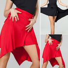 Внешний вид - Women's Ballroom Latin Salsa Tango Dance Skirt Wrap Dancewear Skirt Asymmetric