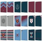 OFFICIAL WEST HAM UNITED FC 2018/19 CREST LEATHER BOOK CASE FOR APPLE iPAD