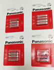 4 or 8x 1.5V AAA Panasonic battery for TV remote, LED torch/bicycle LED lamp