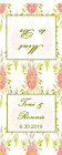 48 Personalized Wedding Matchbook Style Mint Book Party Favors for All Occasions