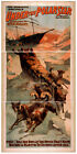 Photo Print Vintage Poster: Stage Theatre Turn Of Century Under The Pole Star 01