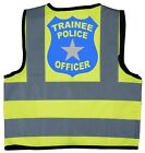 Trainee Police Office Baby/Chilren/Kids Hi Vis Safety Jacket/Vest Size 0-9 Years