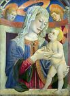 Photo/Poster - Virgin And Child With Two Angels - Giovanni Da Rimini Active 1292