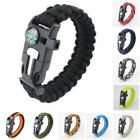 Survival Bracelets Camping Paracord Outdoor Hiking Traveling Hunting Rope Kit