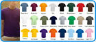 FRUIT OF THE LOOM 10 PACK  PLAIN RANDOM MIXED COLOUR'S T-SHIRTS UNISEX BARGAIN