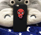Diy 3D Marvel Super Hero Soft Phone Case Cover For iPhone XS MAX XR 5 6 7 8 Plus