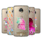 HEAD CASE DESIGNS UNICORN SPARKLE SOFT GEL CASE FOR MOTOROLA PHONES