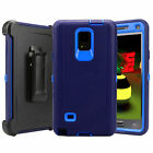For Samsung Galaxy Note 4 Case Cover Clip Fit Otterbox Rugged Defender Series