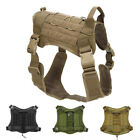 Tactical Trainning Service Dog Harness Nylon Vest with Handle Control