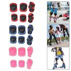 Kids Teens Elbow Knee Wrist Protective Guard Safety Gear Pads skate Bicycle