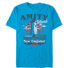 Jaws Amity Island Tourist Lighthouse Mens Graphic T Shirt
