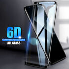 Full Cover 6D Tempered Glass Samsung S8 S9 + Note 9 8 S7 Edg