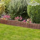 Waltons Willow Garden Lawn Edging Border Woven Wooden Screening Arch Fencing NEW