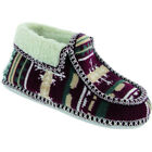 Divaz Womens/Ladies Norway Textile Slip on Moccasin Slippers