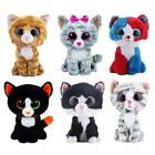 Black Plush Cat Stuffed Toy Doll Animal Toys Jiaru Animals Dressed Dolls Soft