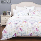 Bedsure Printed Floral Duvet Cover Set Soft Duvet Cove 3PCS Bedding Sets  image