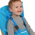 Baby Portable High Chair Feeding Seat Infant Travel Seat Safety Belt Cover New