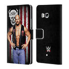OFFICIAL WWE AMERICAN FLAG SUPERSTARS LEATHER BOOK WALLET CASE FOR HTC PHONES 1