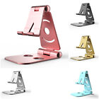 Desk Stand For Phones Tablet iPad Universal Aluminum Alloy Fold Charging Holder