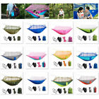 New Portable Outdoor Double Hammock Mosquito Net Light Nylon Camping Hanging Bed
