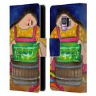 OFFICIAL WYANNE BIG DIVA 2 LEATHER BOOK WALLET CASE COVER FOR SAMSUNG PHONES 1
