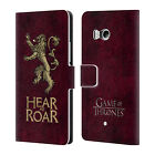 OFFICIAL HBO GAME OF THRONES DARK SIGILS LEATHER BOOK CASE FOR HTC PHONES 1