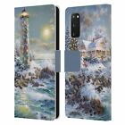 OFFICIAL CHRISTMAS MIX WINTER WONDERLAND LEATHER BOOK CASE FOR SAMSUNG PHONES 2