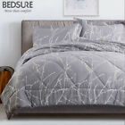 Bedsure Branch Floral Comforter Set Down Alternative Comforter Microfiber Duvet image