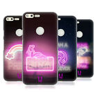 HEAD CASE DESIGNS FANCY NEON LIGHTS HARD BACK CASE FOR GOOGLE PHONES