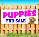 PUPPIES FOR SALE Advertising Vinyl Banner Flag Sign Many Sizes