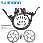 SHIMANO MT200 Bike Brake Hydraulic Disc Brakes Set Pre-Filled With RT56 Rotors