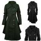 Gothic Sexy Women's Ladies Lapel Asymmetrical  Cloak Coat Jacket Outwear GIFT