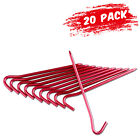 Внешний вид - 20Pcs 7075 Aluminum Tent Stakes Ultralight Hook Nail Tent Rust-Free Pegs Spikes